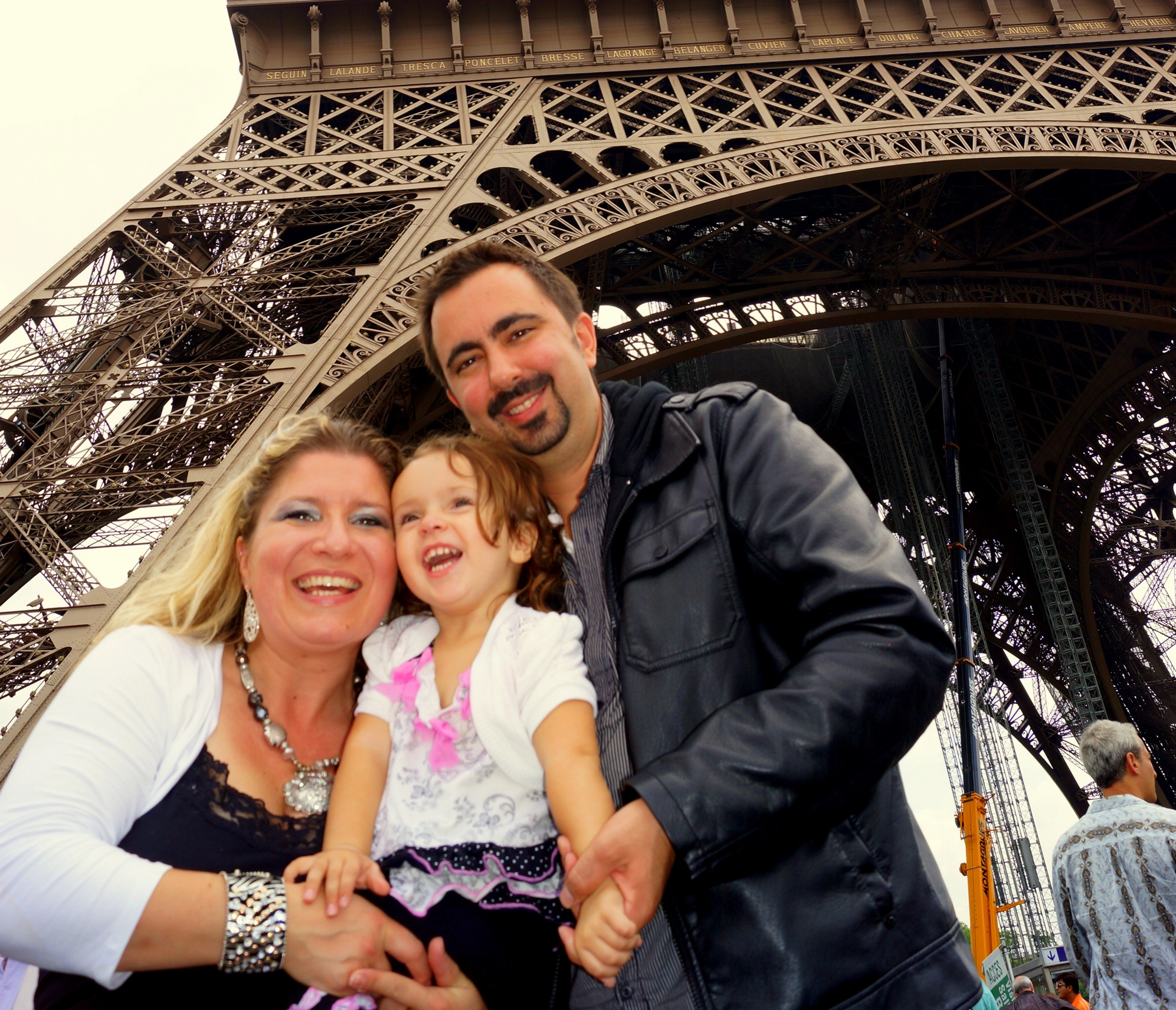 At the Eifel Tower