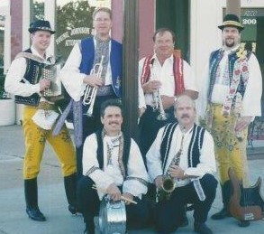 1997 - Back row: David Slovak, DZ, Louis Valek, John Marek Jr., Front row: Andy Mikula and David Trojacek