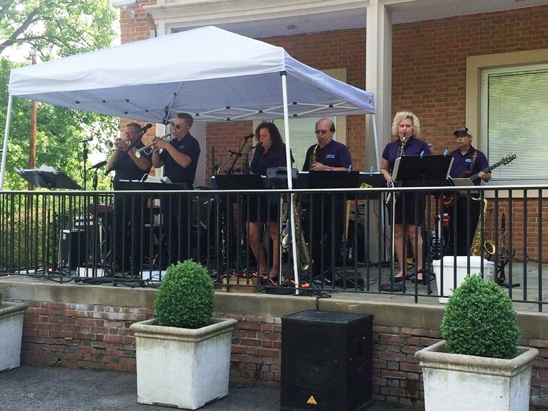 Playing at the Czech Republic Embassy in DC