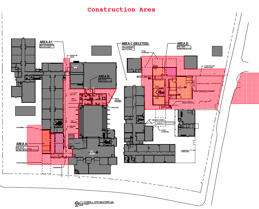 Click the image above for a detailed look at the construction area.