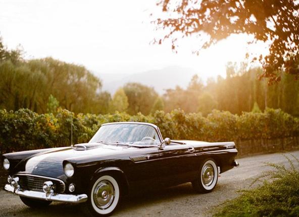 sylvie-gil-film-photography-wedding-published-once-wed-online-black-swan-lake-kristi-amoroso-ariella-chezar-alice-waters-vera-wang-old-car