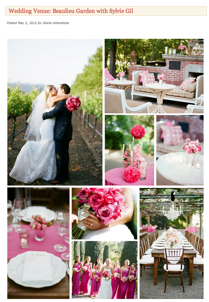 Photographer – Sylvie Gil Photography ; Planner – Kathy Higgins Weddings ; Floral – Valley Flora ; Catering – Paula LeDuc Fine Catering ; Cake – Perfect Endings; Lighting – Got Light?; Linen and General Rentals – Classic Party Rentals; Lounge Furniture – Blueprint Studios; Entertainment – Ever Music Group, Chris Fox of Fox Sounds.-film-photography-wedding-pink