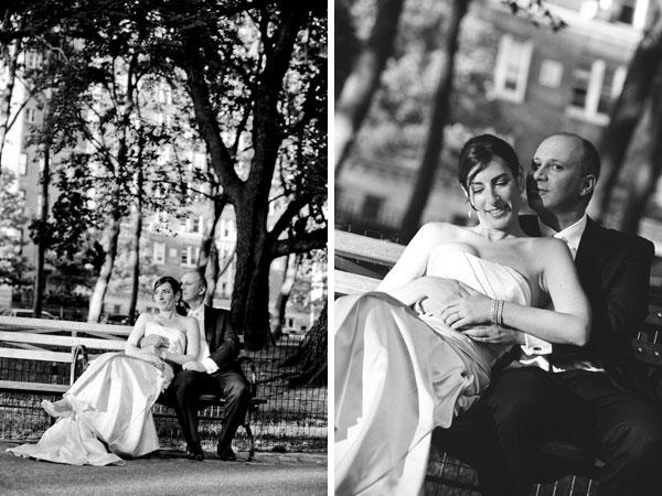 sylvie-gil-film-photography-wedding-manhattan-bride-groom-black-white-dress