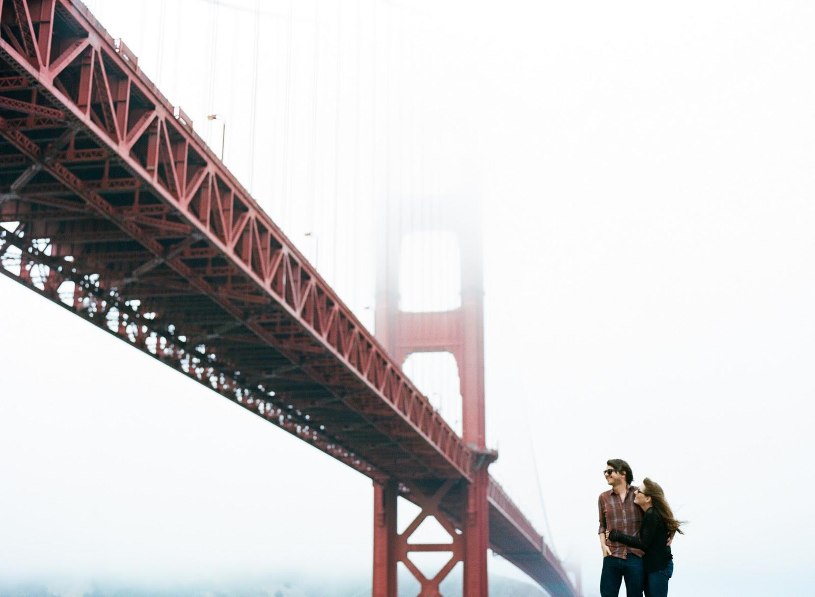 sylvie-gil-film-photography-portrait-engagements-fort-point-san-francisco-golden-gte-bridge