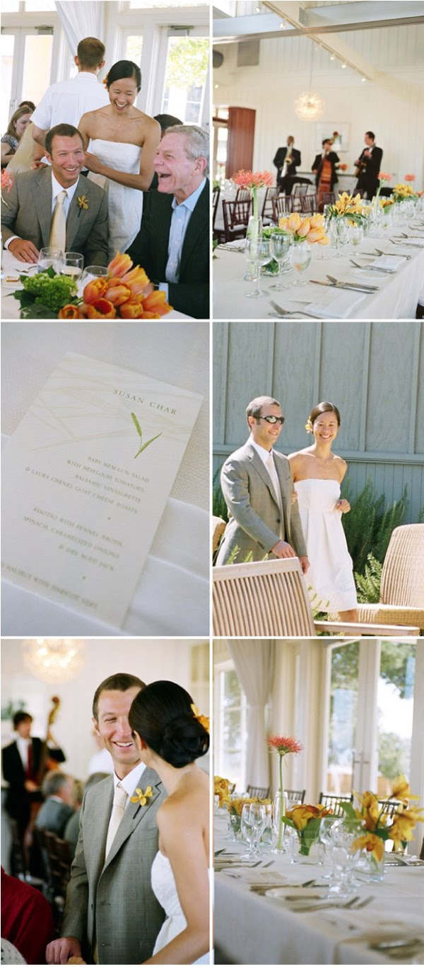 sylvie-gil-film-photography-wedding-style-me-pretty-napa-valley-wedding-carneros-inn-short-dress-yellow-flowers