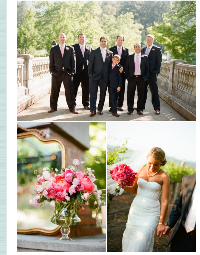 sylvie-gil-film-photography-wedding-style-me-pretty-published-online-pink-outdoor-bride-groom-groomsmen