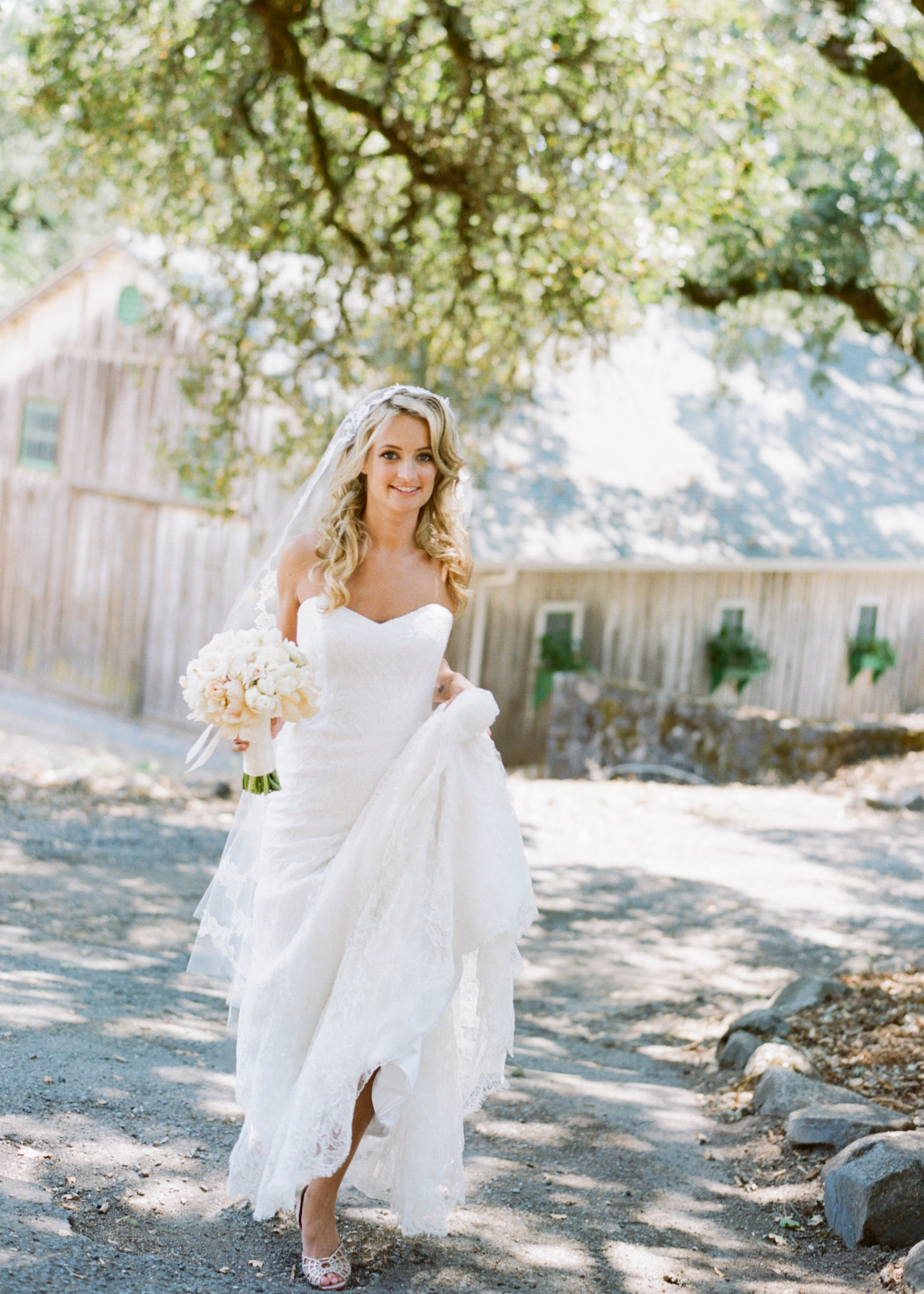 Annadel Winery Bride by Sylvie Gil