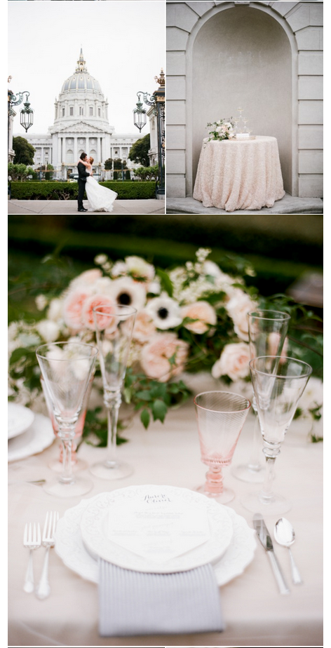 Sylvie Gil Style Me Pretty Parisian inspired wedding