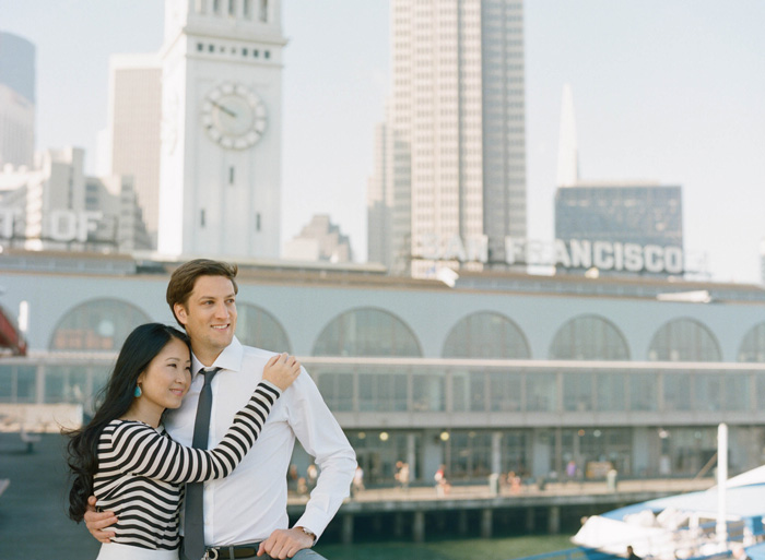 Sylvie-Gil-Engagement-Film-Photography-Session-San-Francisco-Ferry-Building