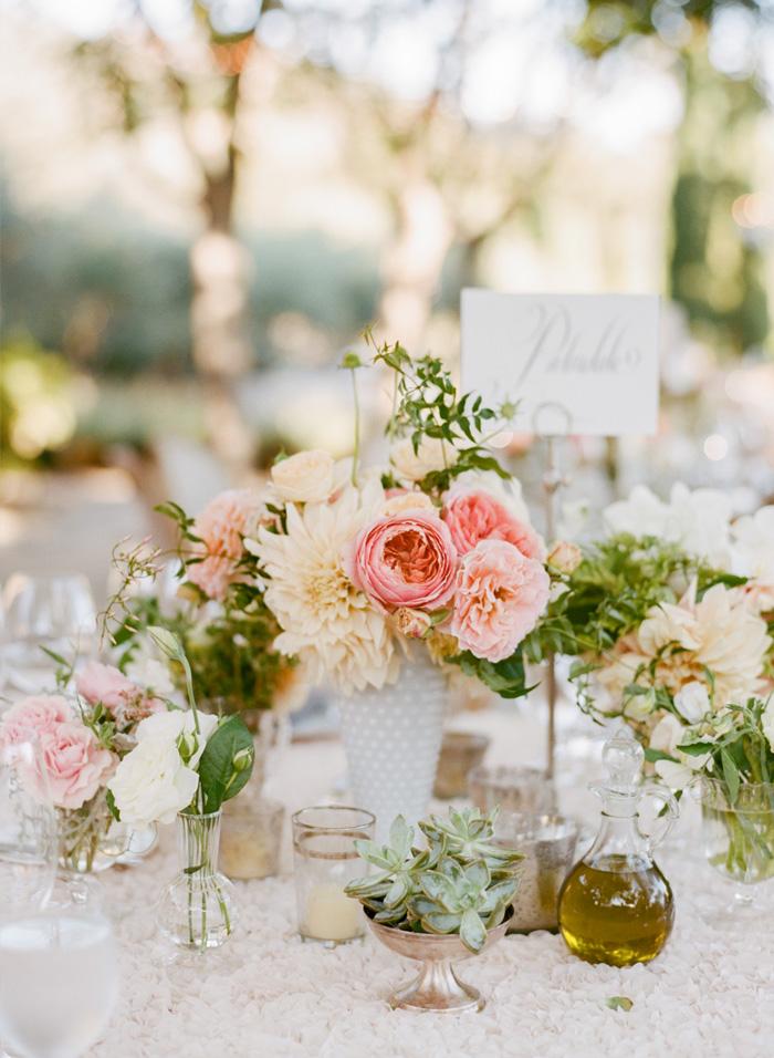 SylvieGIl-Film-Wedding-Photography-Black-Swan-Lake-Napa-Sonoma-California-Table-Flowers-Outdoor-reception-