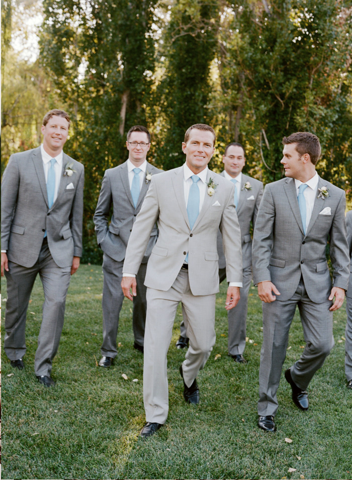 Sylvie-Gil-Film-Wedding-Photography-Black–Swan–lake-Napa-Valley-California- Grey-Suit-Grooms-Walkings