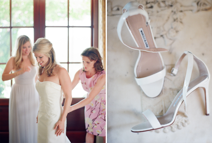 Sarah's family helps her get ready for her big day; photo by Sylvie Gil