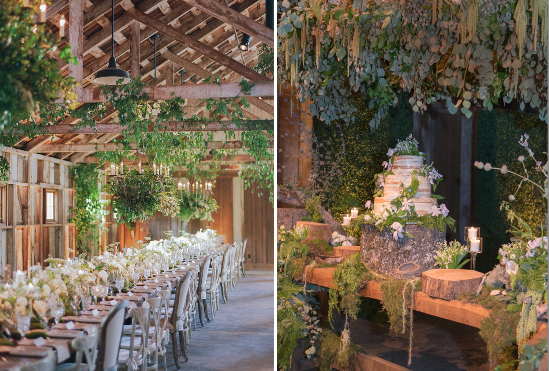 Sylvie-Gil-film-destination-wedding-photography-santa-lucia-redwood-forest-rustic-bride-groom-ceremony-vows-floral-details-candles-ranch
