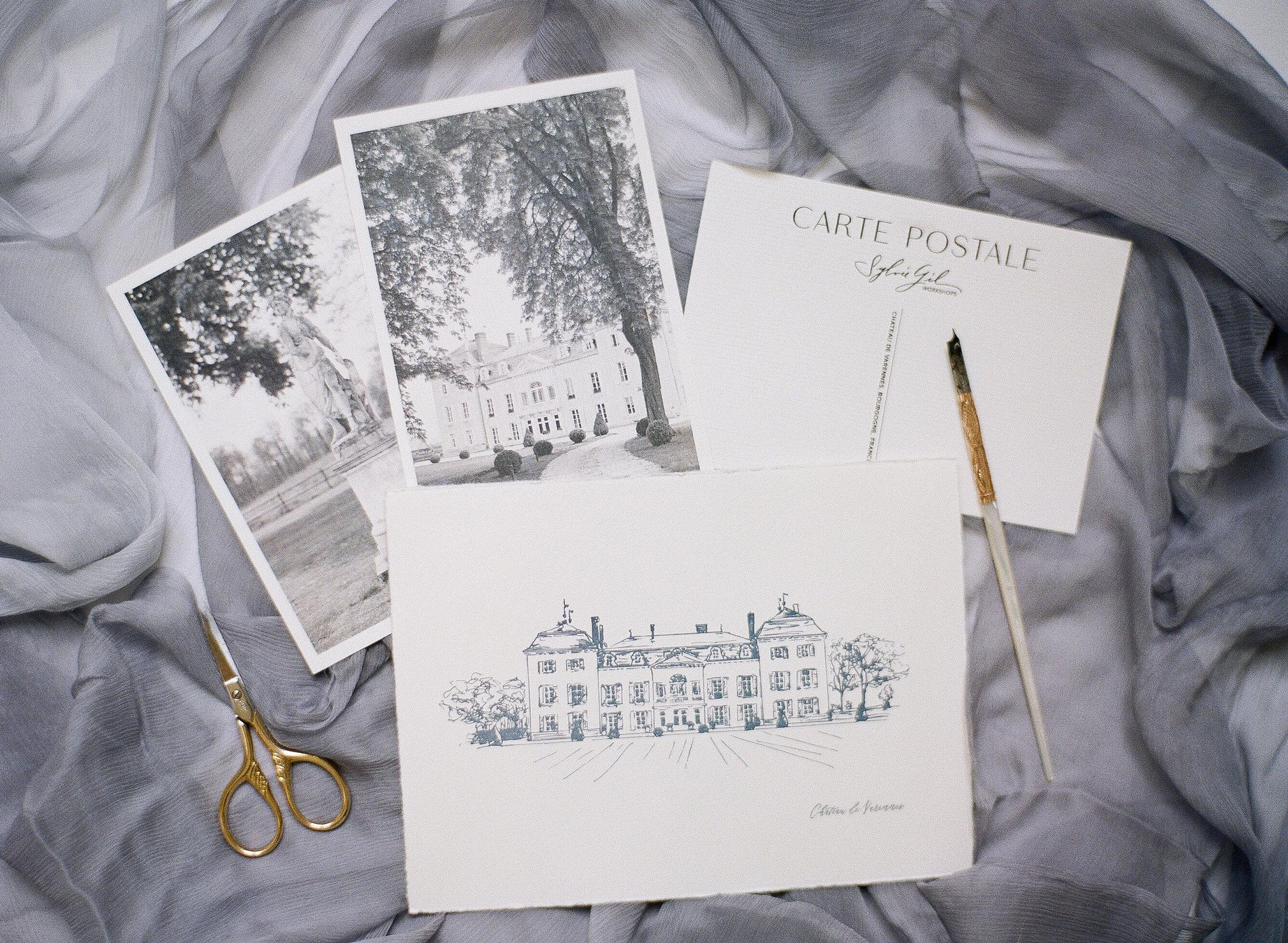 Sylvie-Gil-film-destination-wedding-photography-2017-workshop-chateau-de-varennes-masquerade-burgundy-france