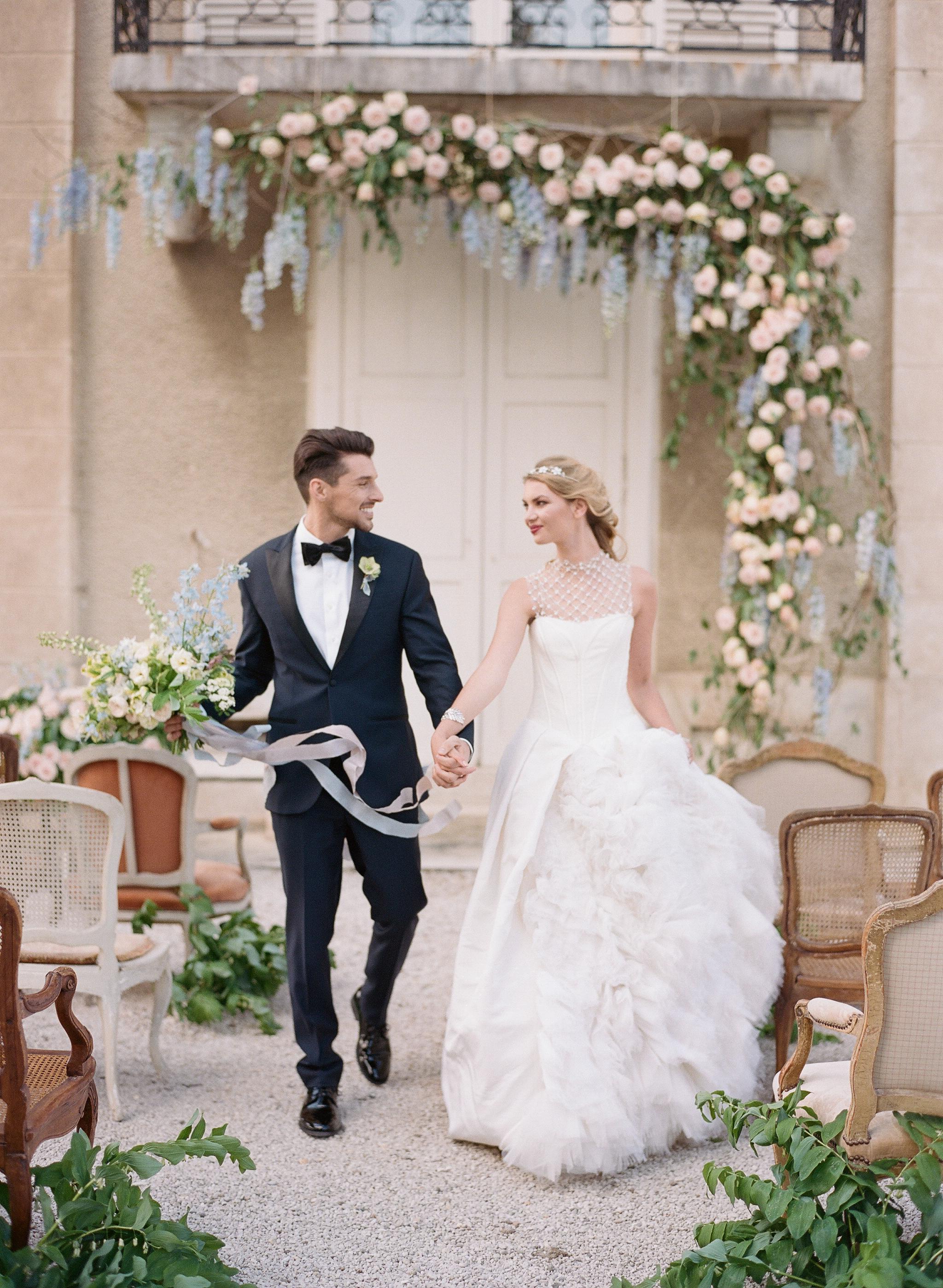 Sylvie-Gil-film-destination-wedding-photography-2017-workshop-chateau-de-varennes-masquerade-burgundy-france-bride-groom-just-married