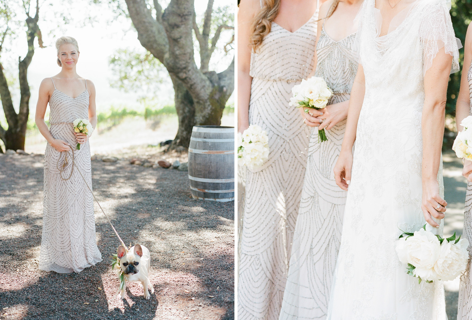 Sylvie-Gil-film-destination-wedding-photography-kunde-winery-napa-shabby-chic-french-bulldog
