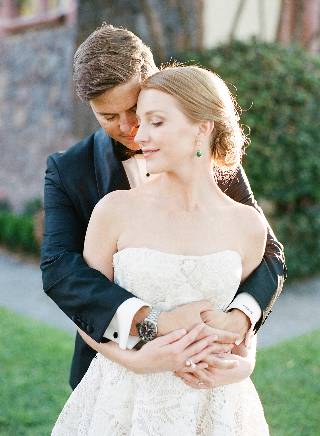 A sunset couple session after a wedding in San Miguel de Allende, Mexico; Sylvie Gil Photography