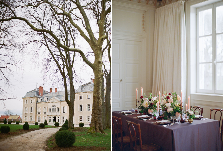 A chateau in Burgundy France; Sylvie Gil Photography