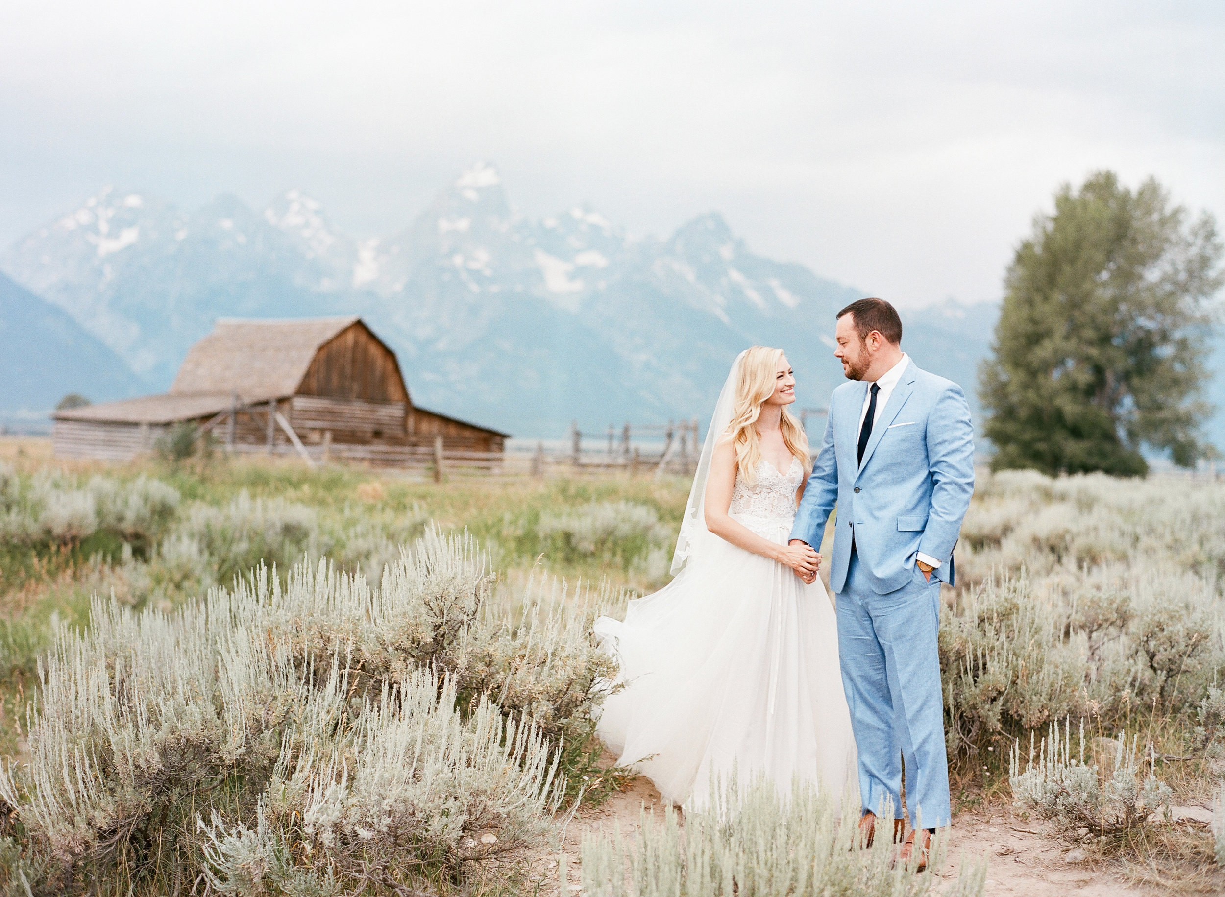 Barn wedding, Grand Teton National Park, Sylvie Gil Photography