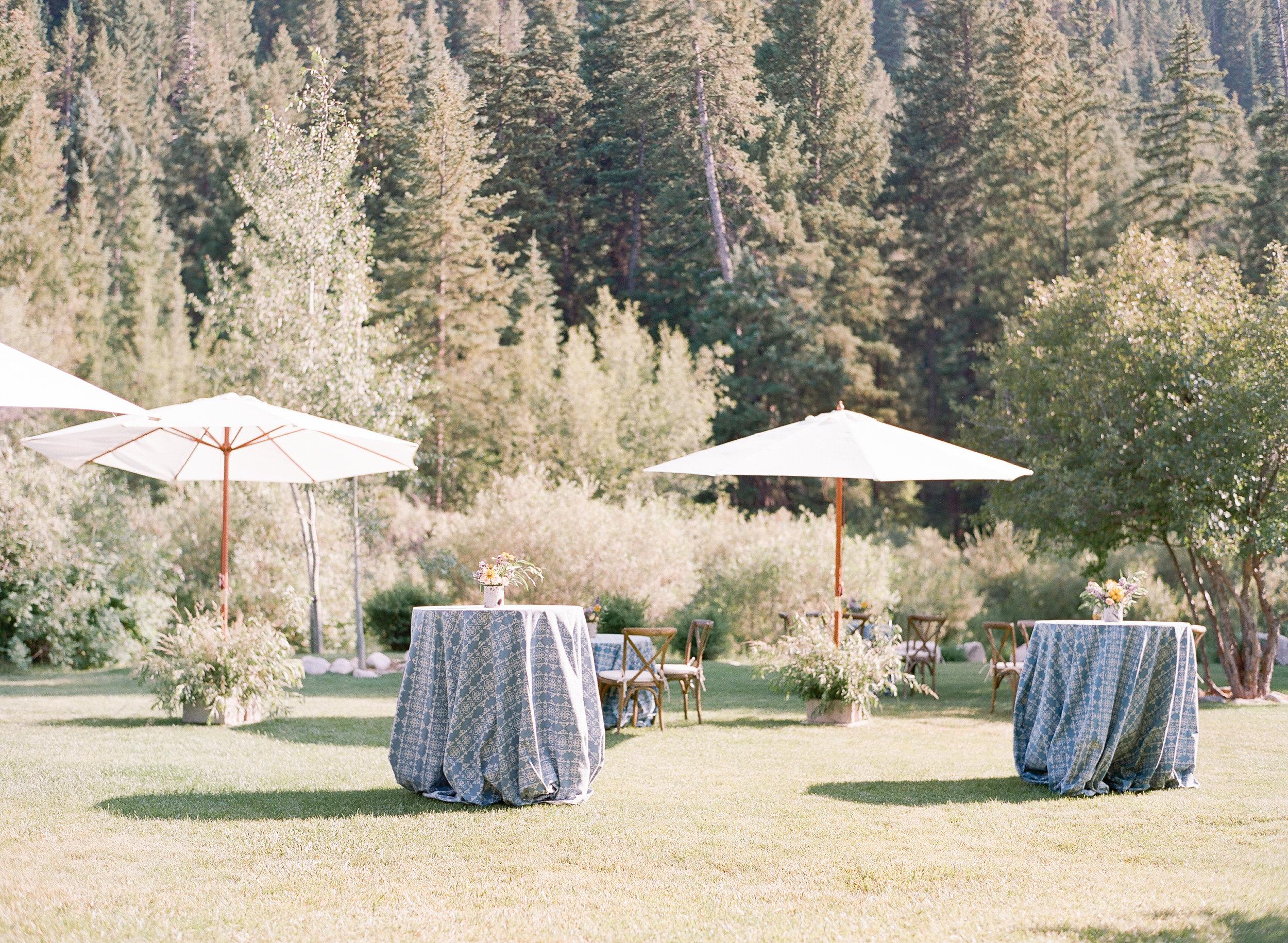 Cocktail reception decor, sunny wedding, Equestrian bride, equine bridal photography, country wedding, wildhorse and bride, Sylvie Gil Photography