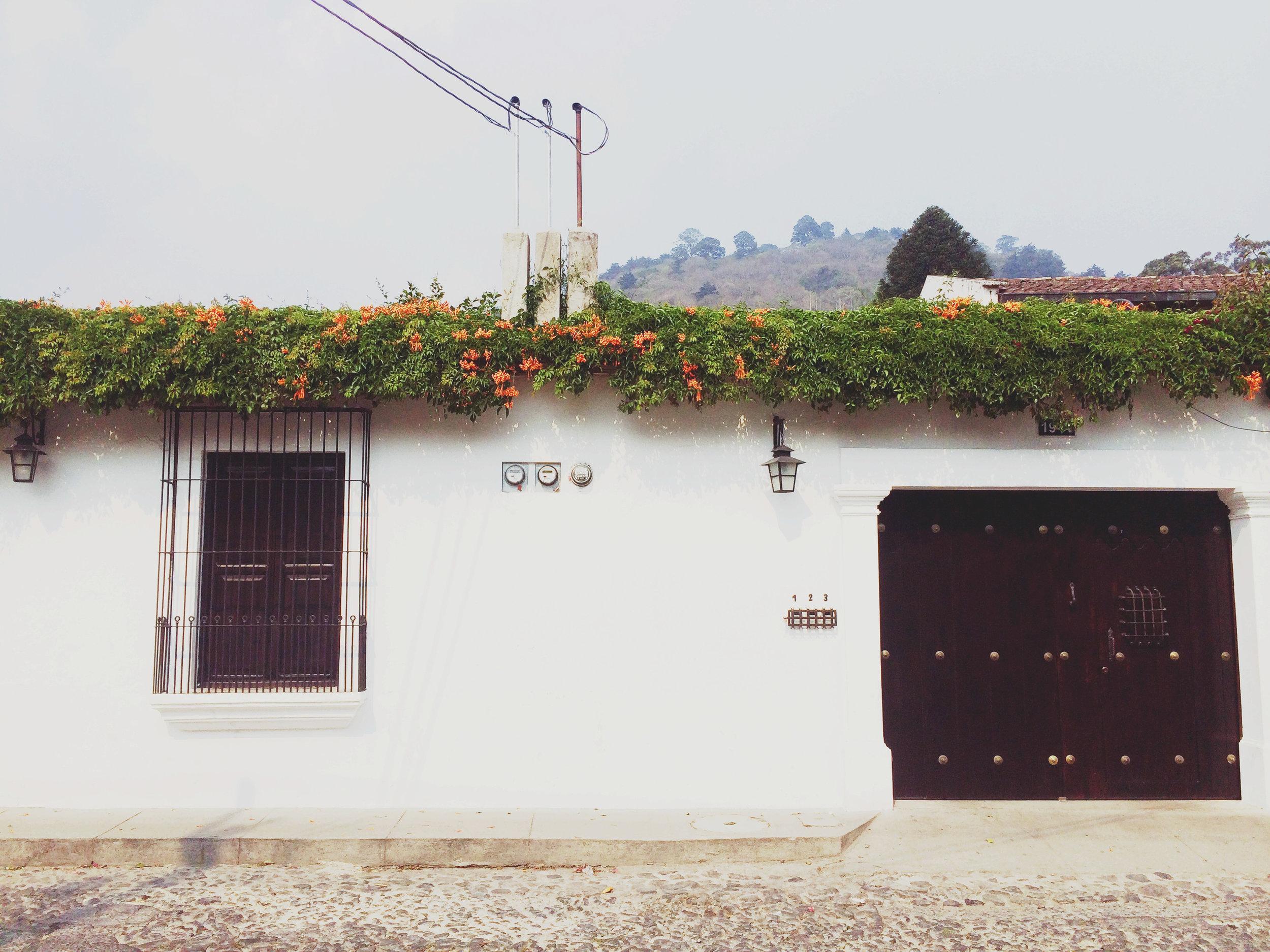 Whitewashed Guatemala