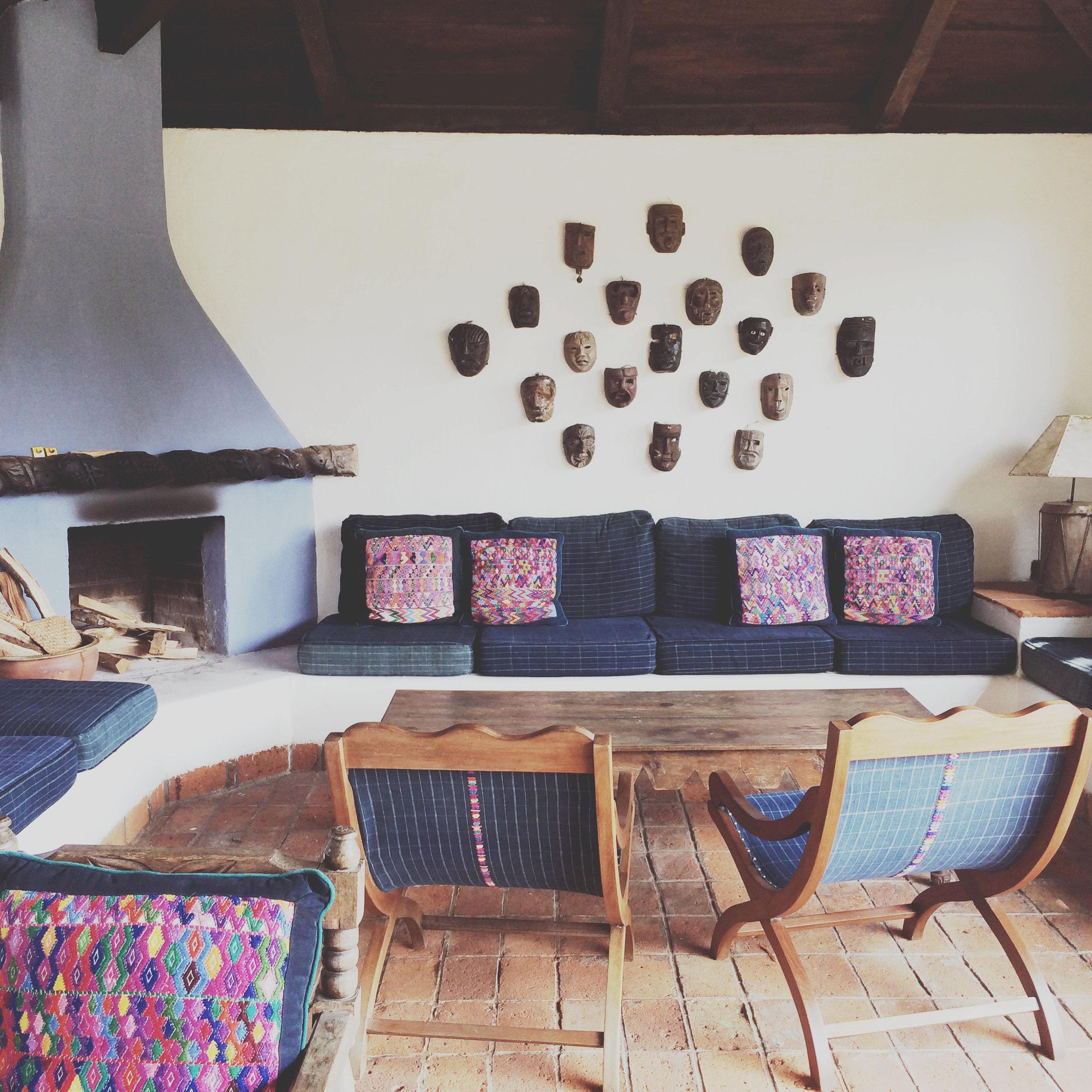 Sitting Area at Porta Hotel Antigua
