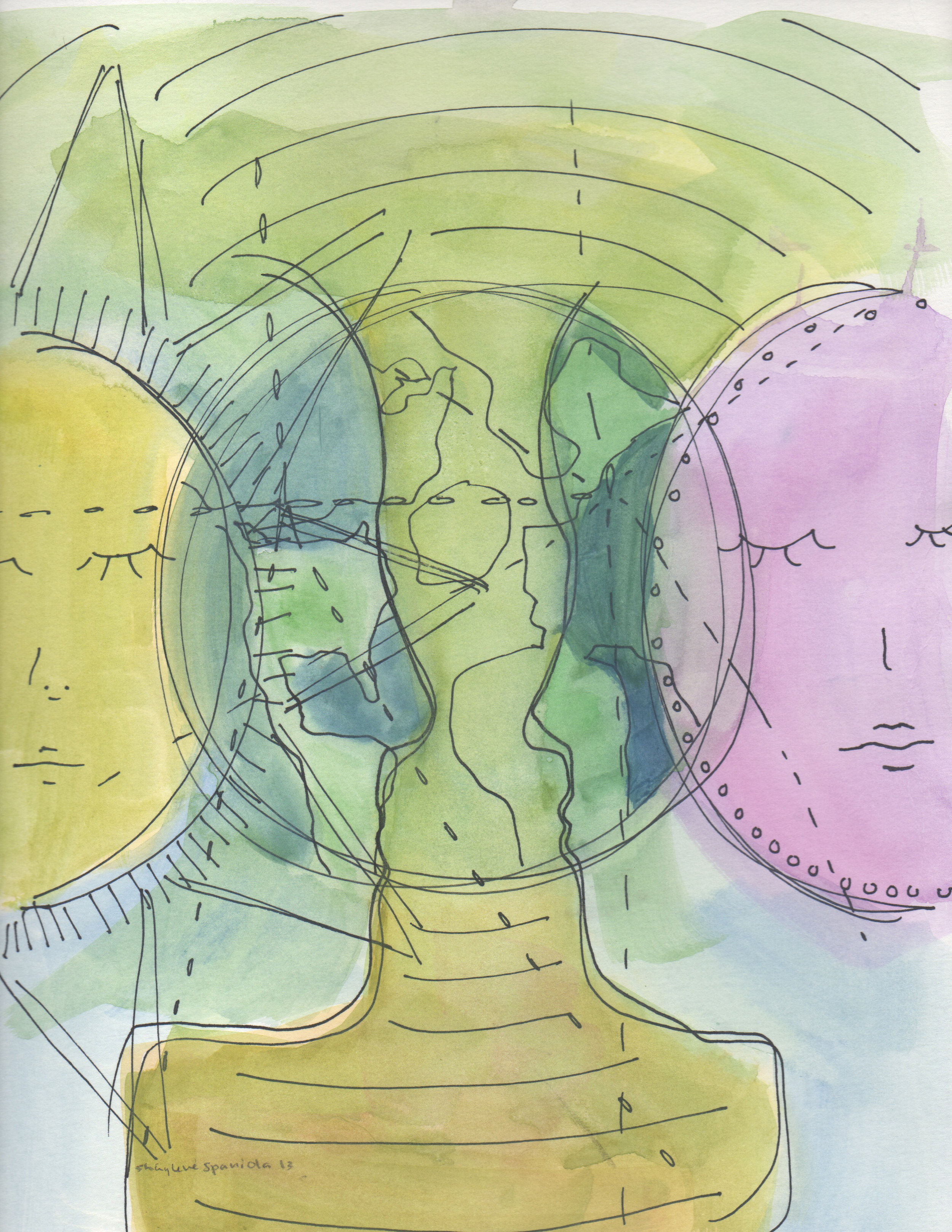 Mystic Art by Shay Spaniola