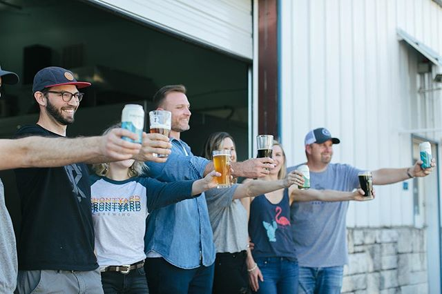 I love the sense of community @frontyardbrewing has created around gathering together and drinking a badass beer. I love trying and supporting small, family owned, Texas breweries and Front Yard is my new favorite! Check them out on Instagram and their website to see where in Austin you can grab a pint! 😋 . . . #igaustin #instagood #igtexas #instaphotography #austin #austintx #austinfood  #saturdayafternoon #saturdayvibes #shoplocal #shopsmall #localaustinbusiness #localaustin #vsco #lookslikefilm #shootandshare #lazysaturday #austinphotographer #austinproductphotographer #austinfoodphotographer #austinphotography #elkkphotography #southaustinbeer #austinbrewery #austinbeer #ig_beer #craftbeeraustin