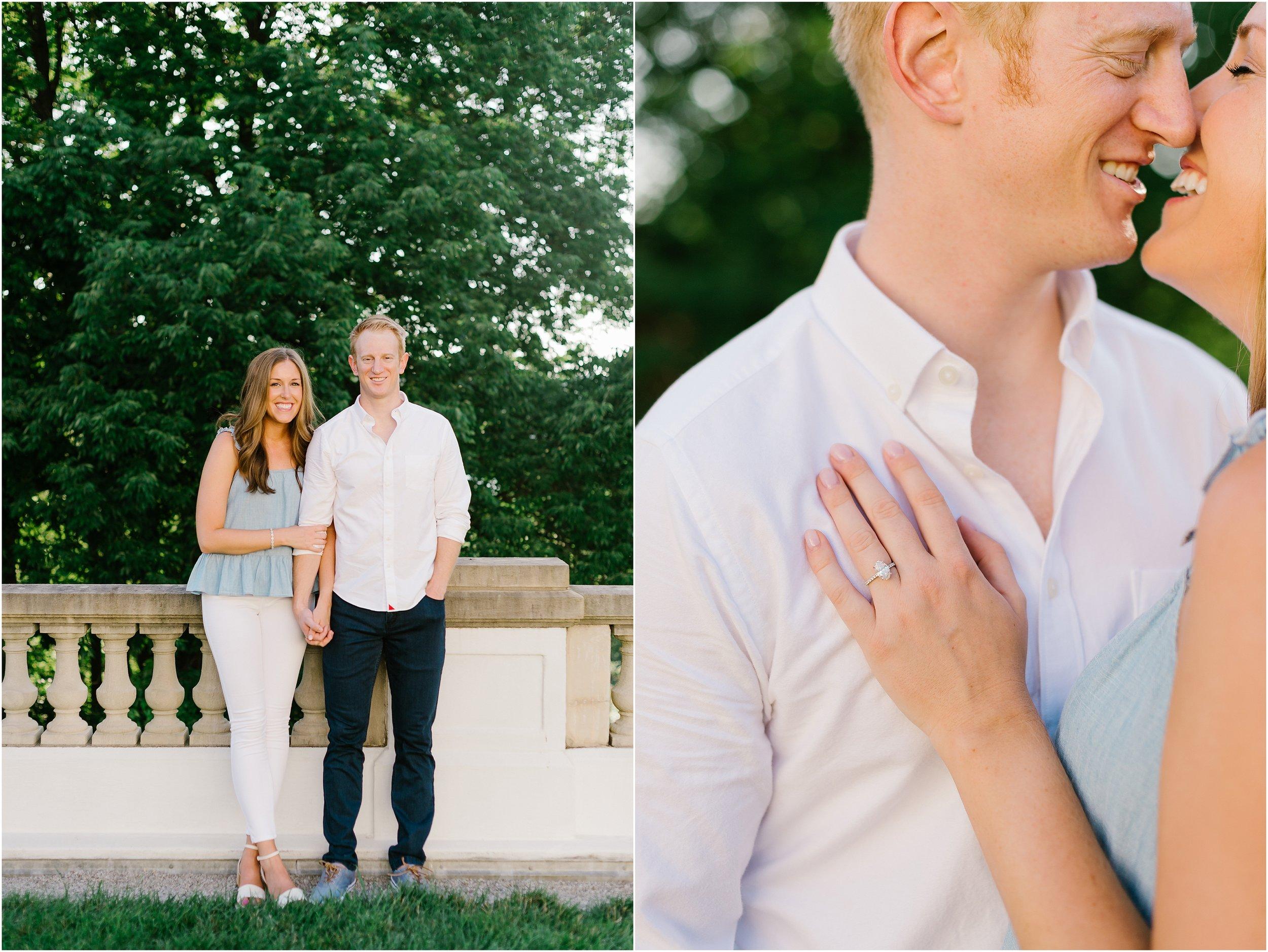 Rebecca Shehorn Photography Indianapolis Wedding Photographer Newfields Engagement Photos_0263.jpg