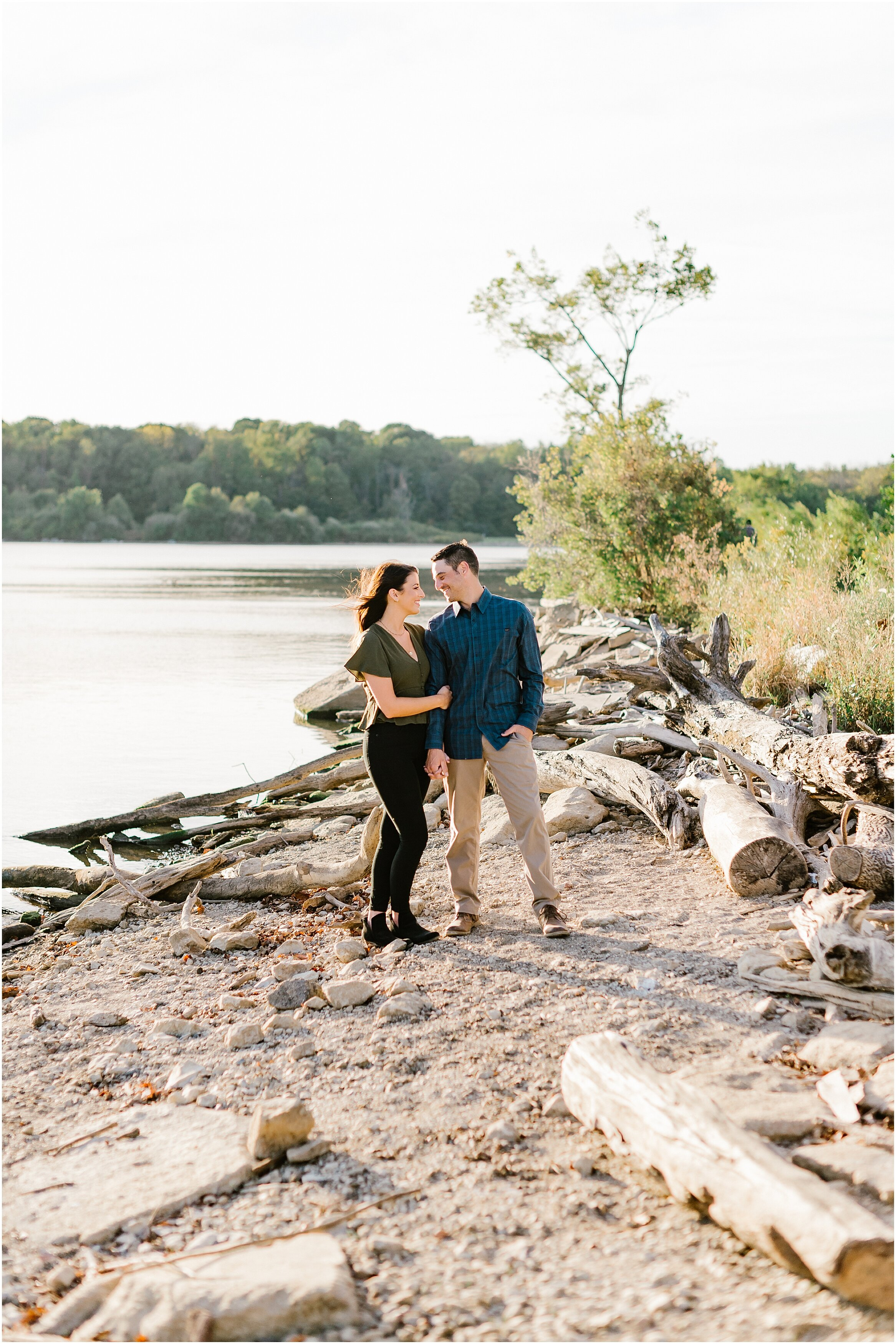 Rebecca Shehorn Photography Indianapolis Wedding Photographer Eagle Creek Resevoir Engagement Session_0853.jpg
