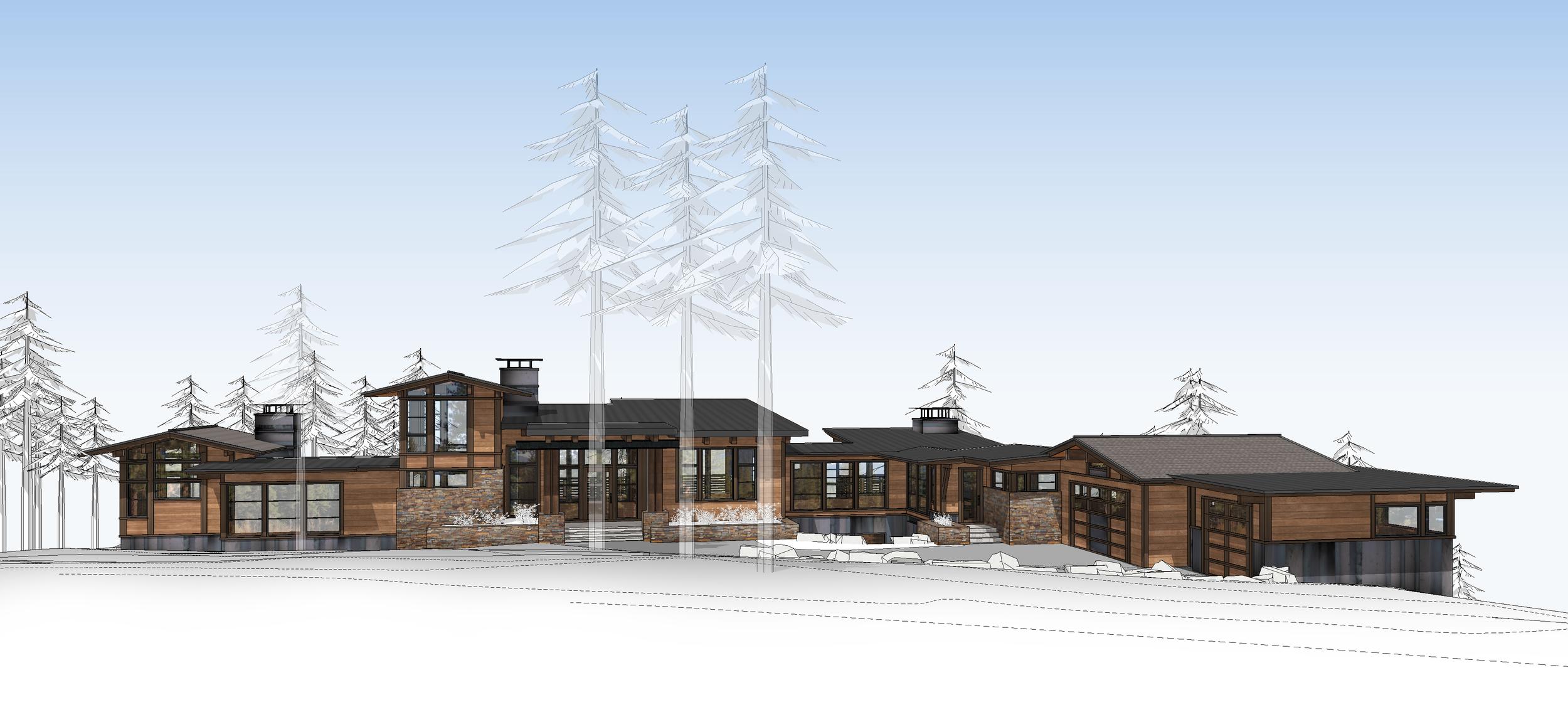 Contractor: Lamperti Construction   Square Footage: 6,441 sf bedrooms: 5 bathrooms: 5.5