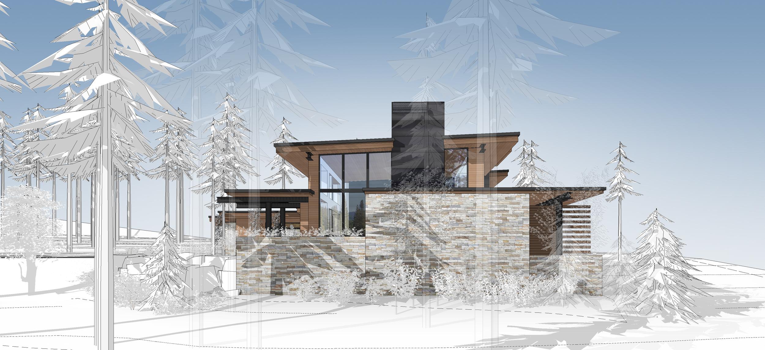 Contractor: Lamperti Construction   Square Footage: 4,402 sf bedrooms: 4 bathrooms: 4.5