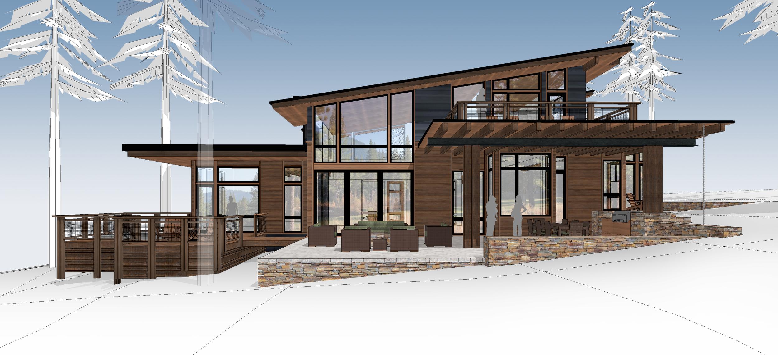 Contractor: Joe Lamperti   Square Footage: 4,370 sf bedrooms: 5 bathrooms: 5.5