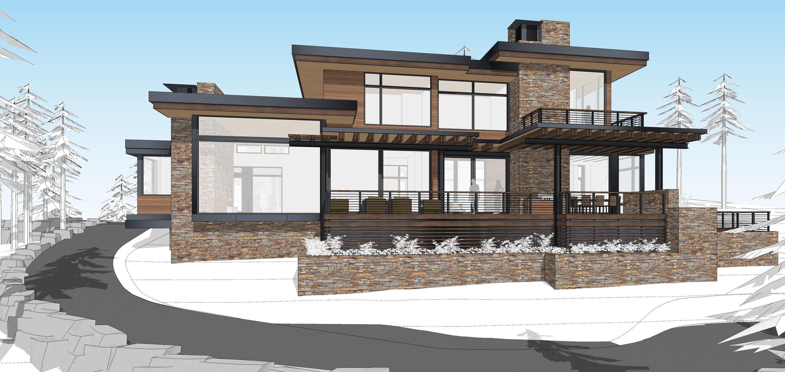 Contractor: Jim Morrison Construction   Square Footage: 8,263 sf bedrooms: 6 bathrooms: 7.5
