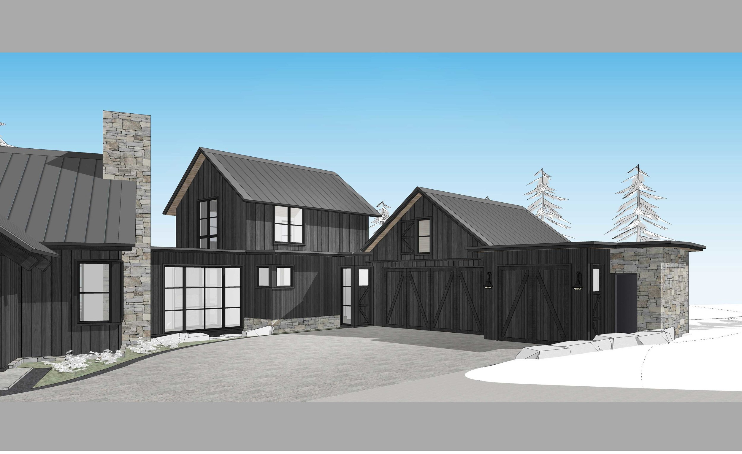 Contractor: Crestwood Construction Interiors: Walton Architecture + Engineering Square Footage: 6,032 sf bedrooms: 4 bathrooms: 5.5