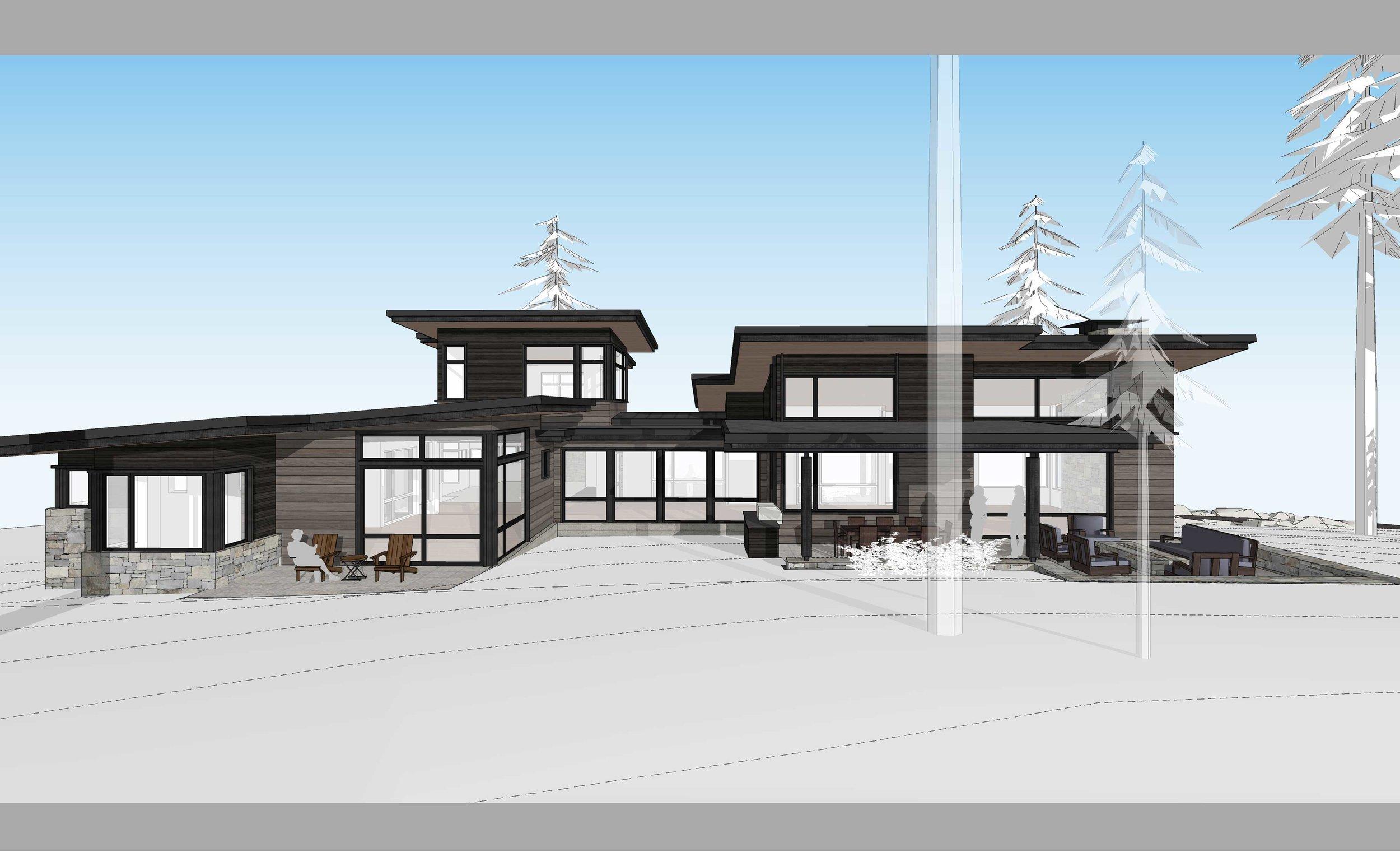 Contractor: Morrison Customs Interiors: Walton Architecture + Engineering Square Footage: 3,875 sf bedrooms: 4 bathrooms: 3.5