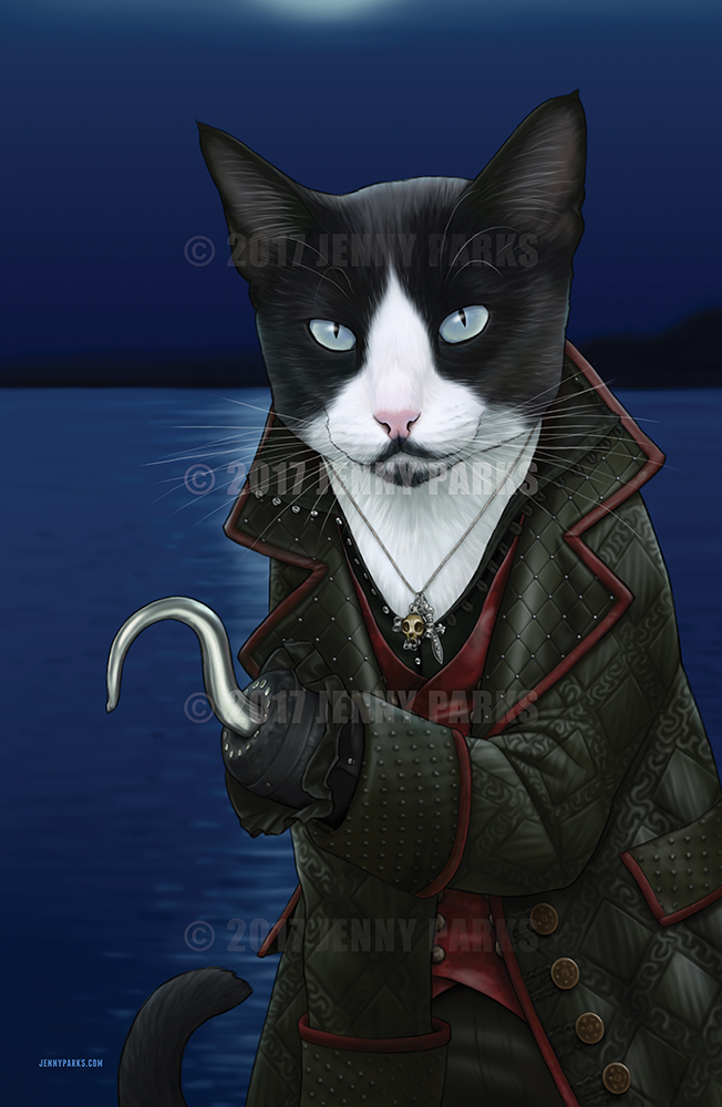 Hook / Killian Jones Cat