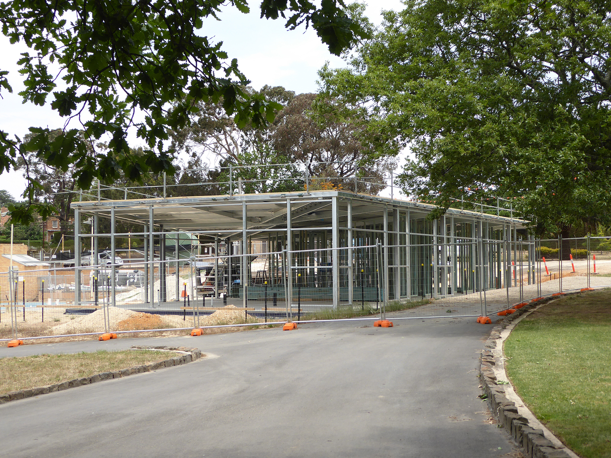 Coleman Architects: Ararat Swimming Pool Pavilion