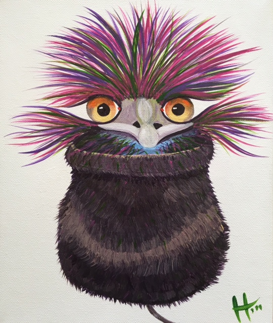 Gumnut Emu  SOLD