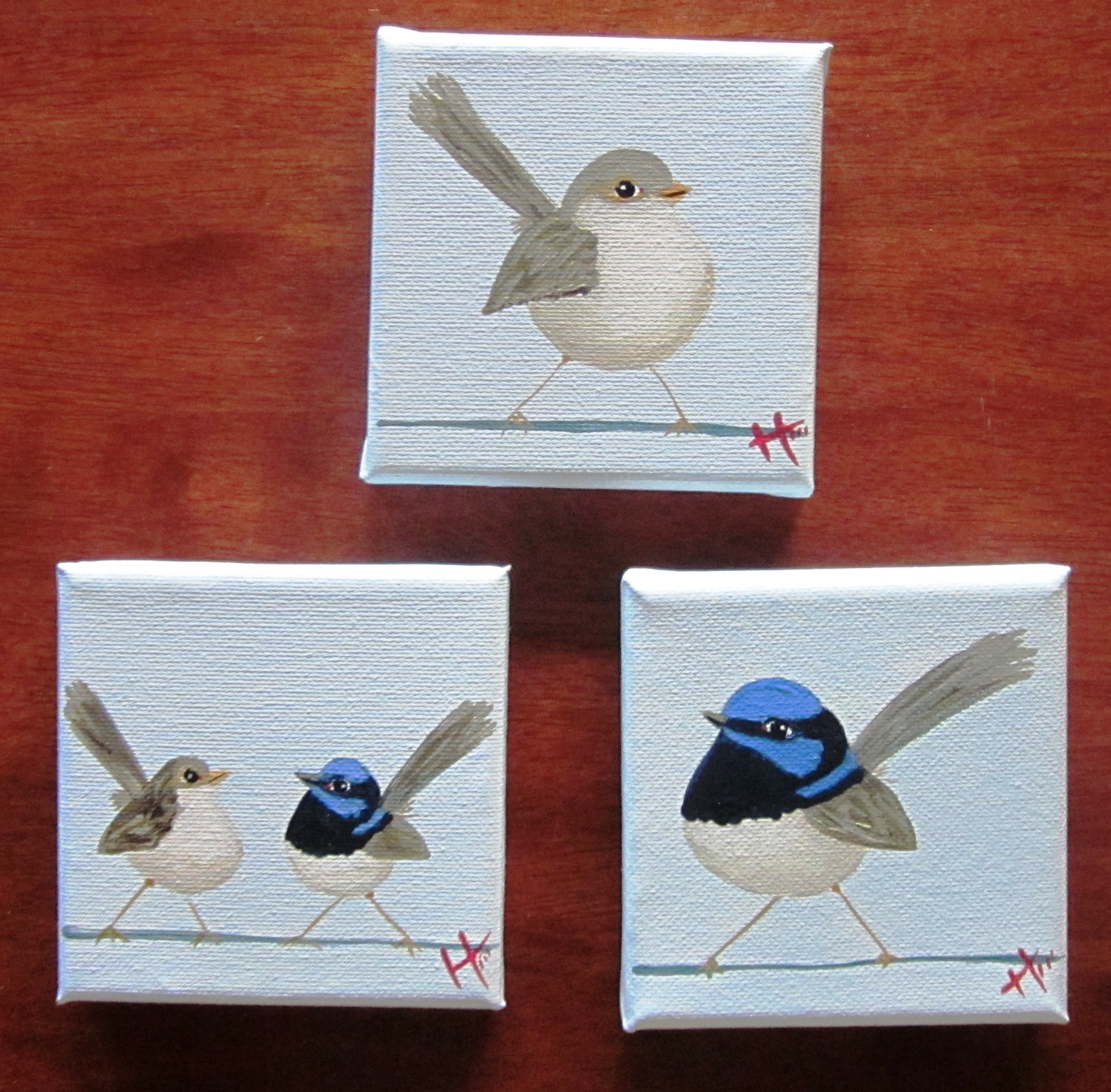 Mini Wrens  SOLD