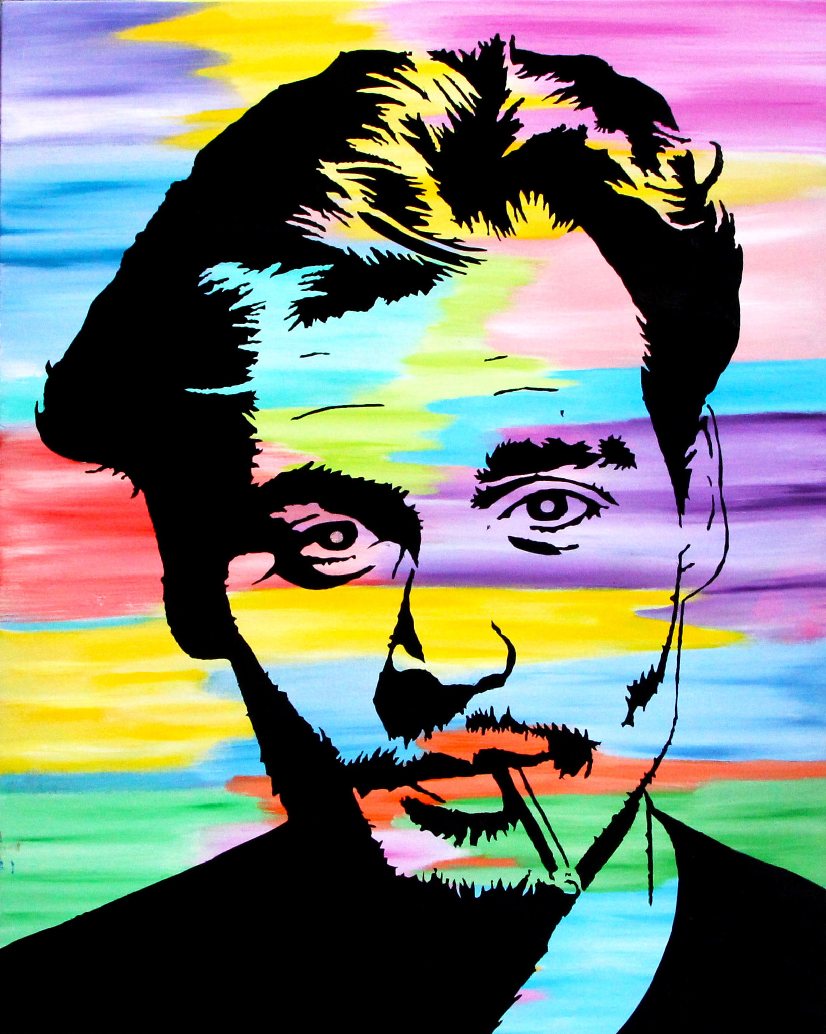 """The Colorful Johnny"" Collaboration with Steven Swancoat"