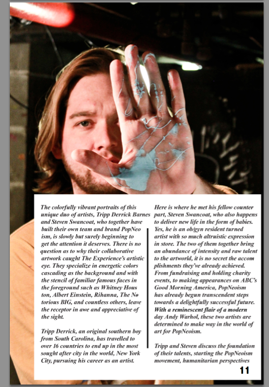 Experience Magazine Article Page 11