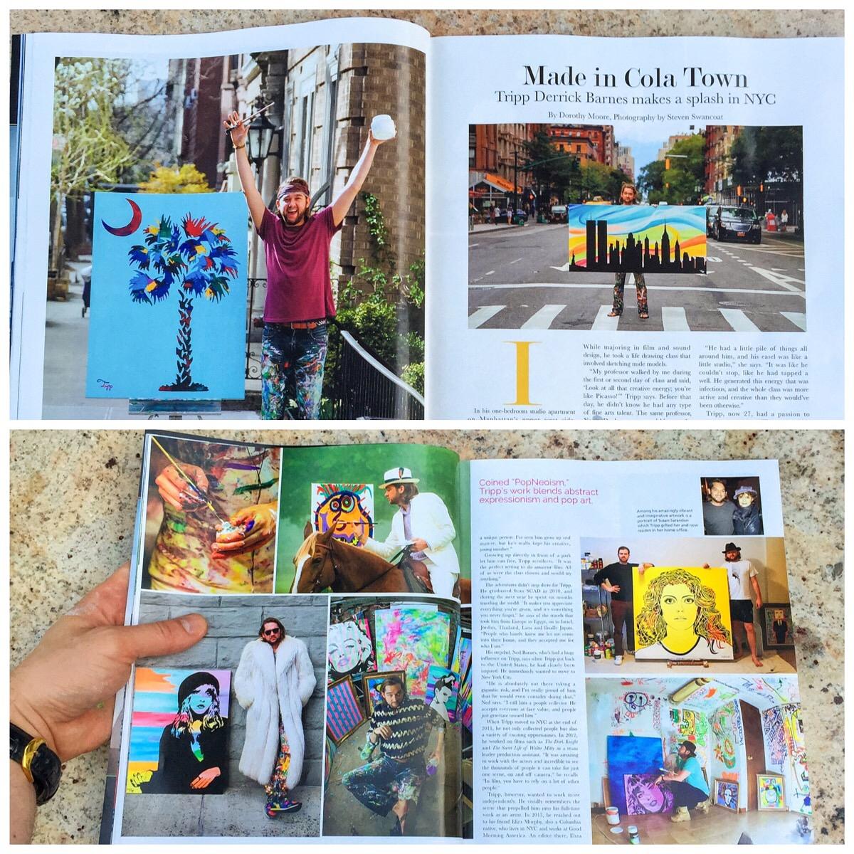 Tripp's article in Columbia Metropolitan Magazine.