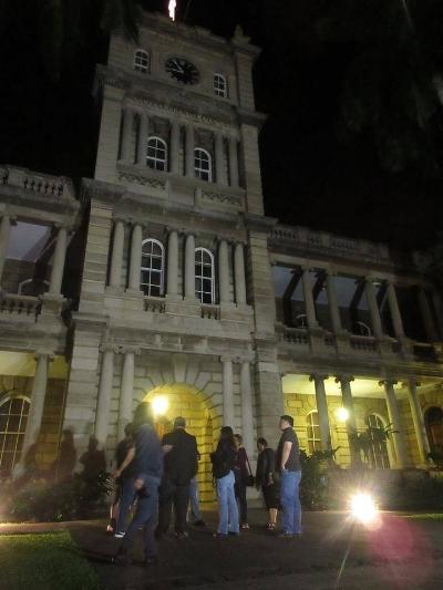 Ali'iolani Hale - Mysteries of Hawai'i pre-Halloween special tour!