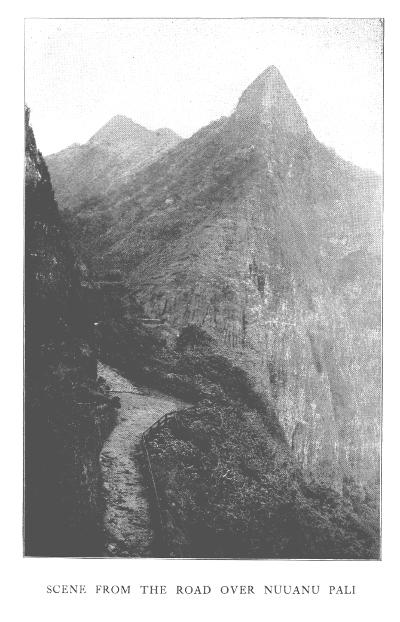Road of Nuuanu Pali, Haunted Battle of Nuuanu, Mysteries of Hawaii