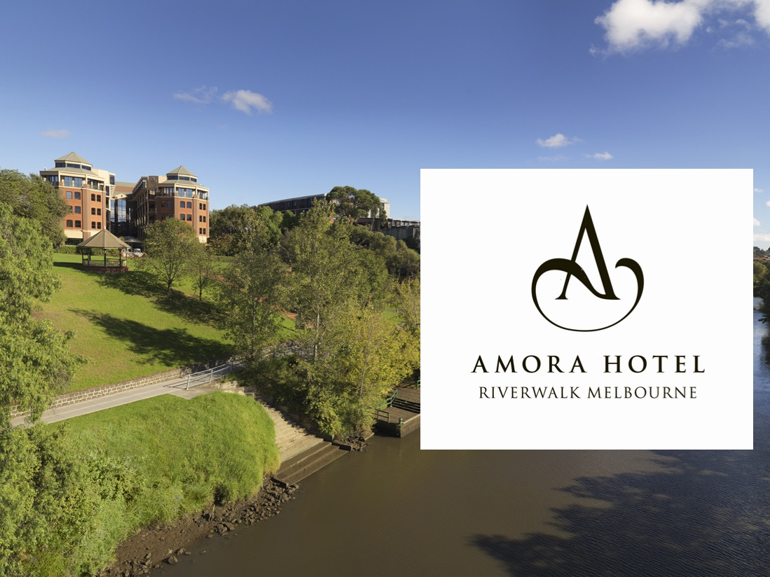 BOOK AT Amora Riverwalk FOR 10% DISCOUNT - Coveniently located OPPOSITE the Race Finish in Hawthorn.