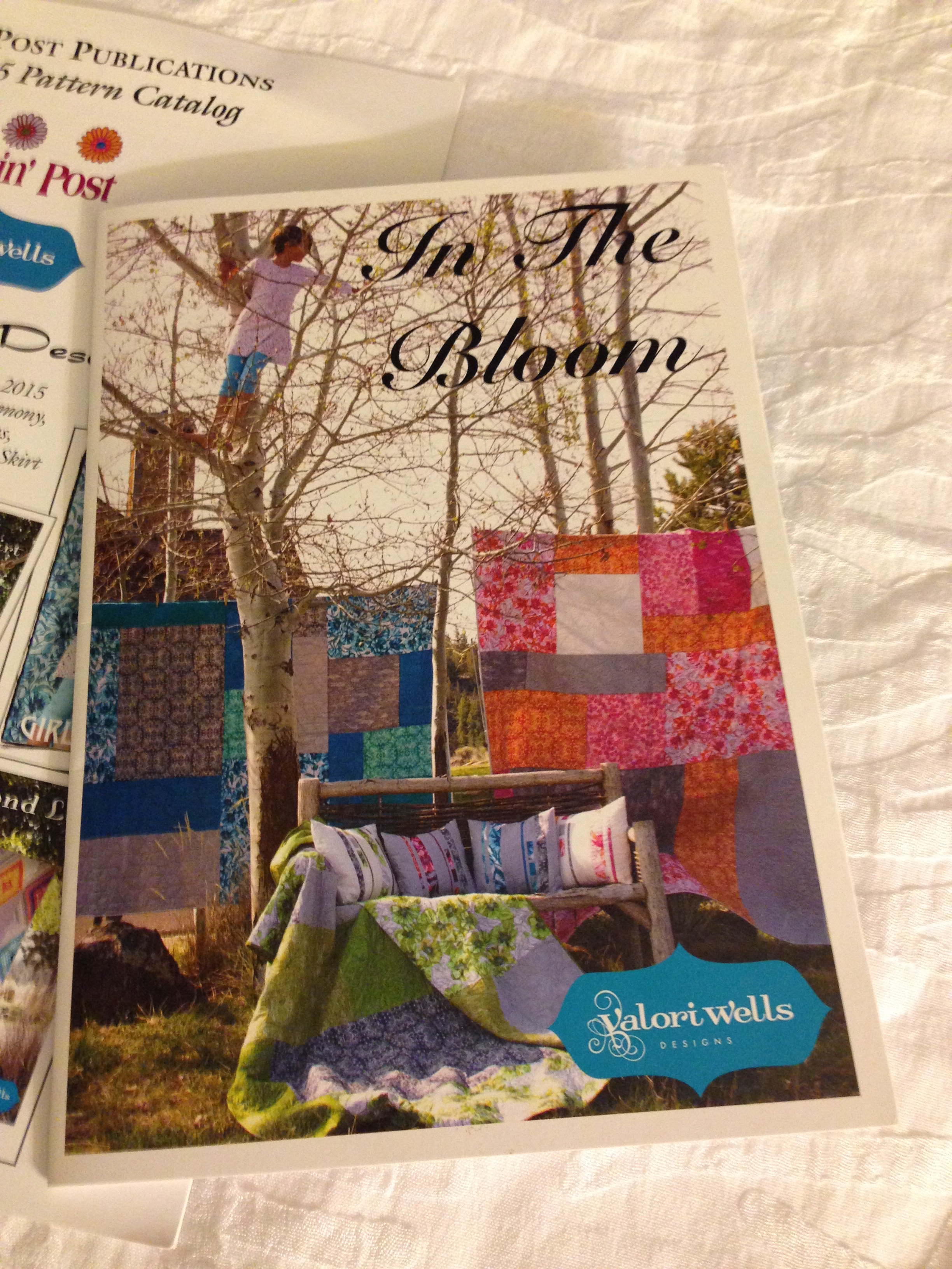 New fabric line from Valori Wells