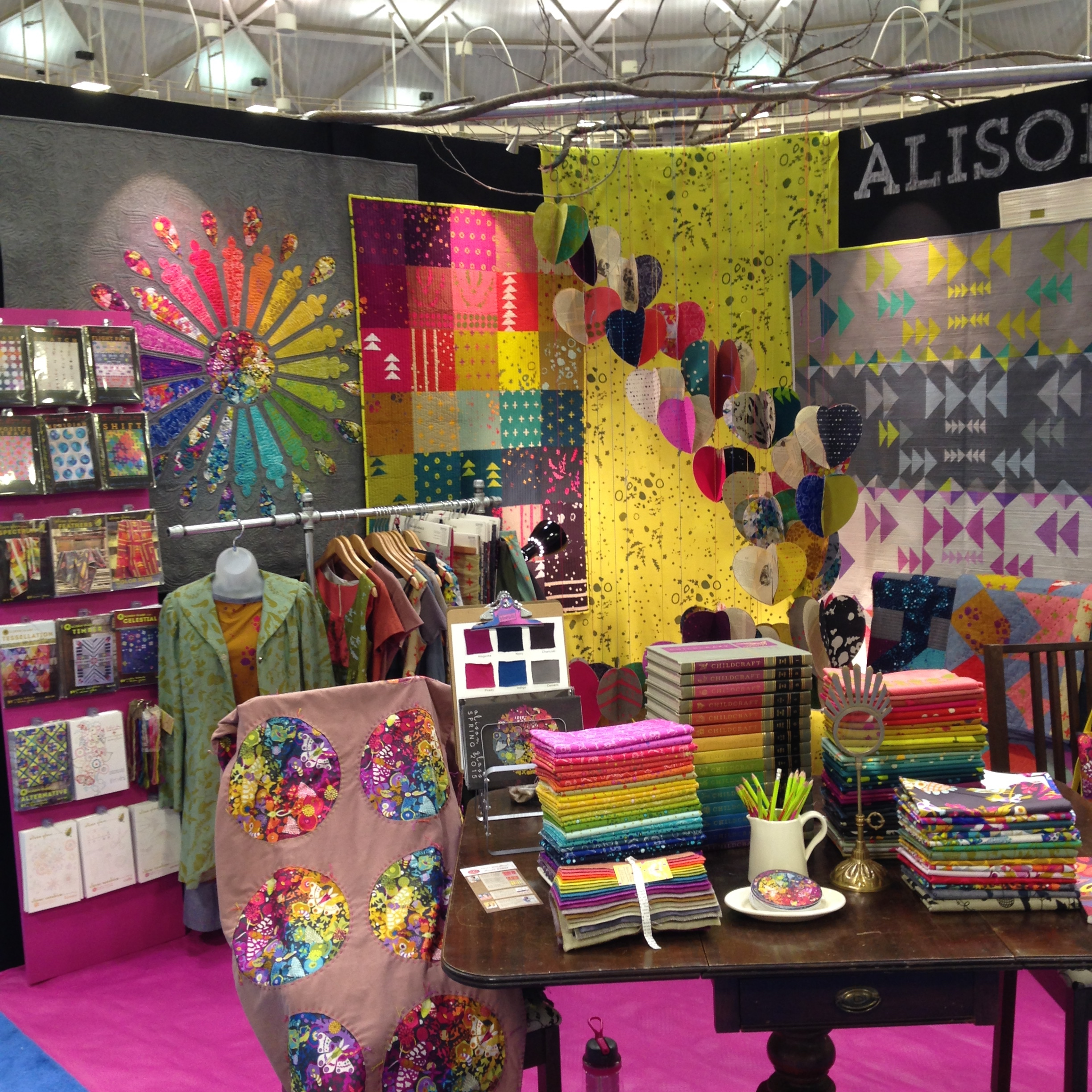 Alison Glass booth