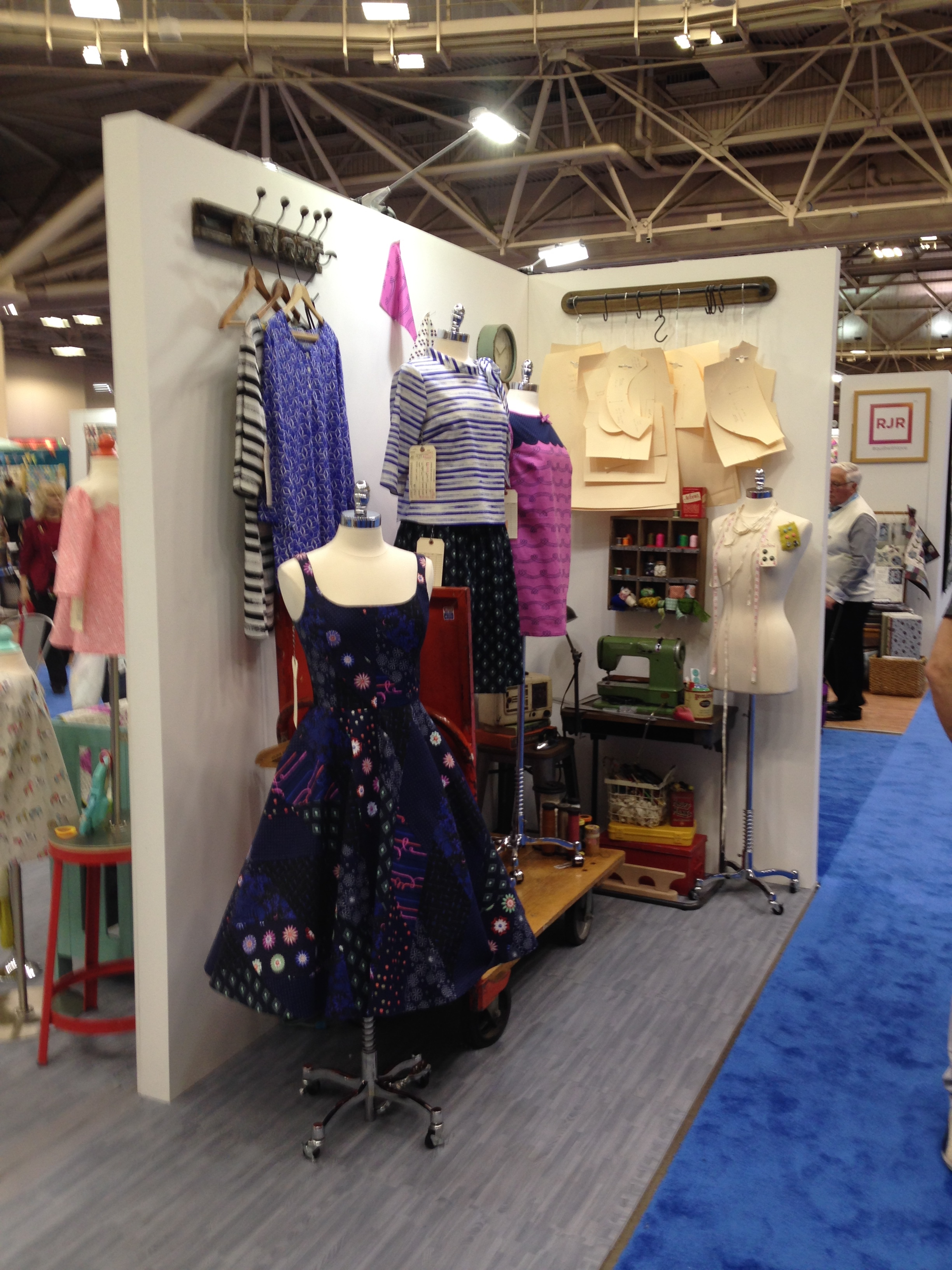 Cotton and Steel booth
