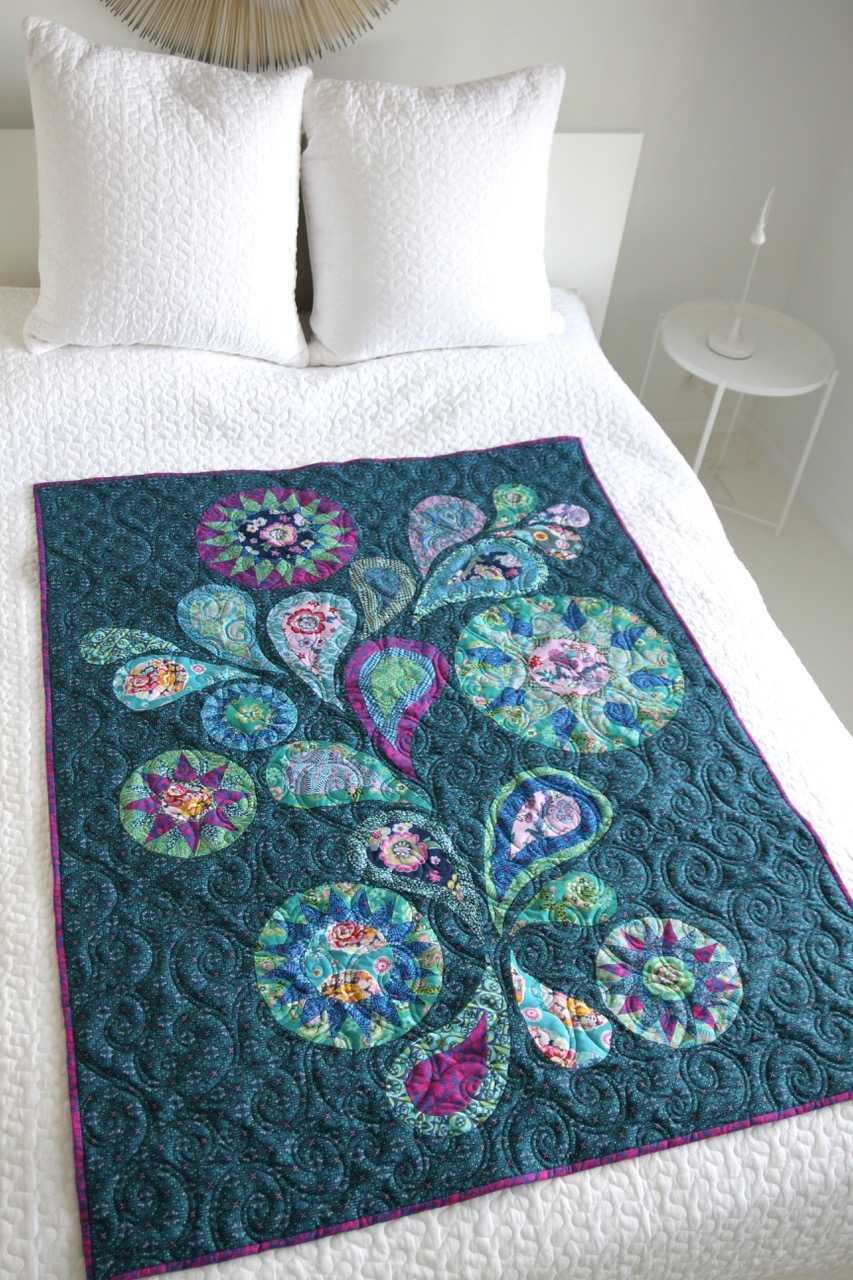Photograph by Dave Butler, Quilting by Wanda Rains of Rainy Day Quilts